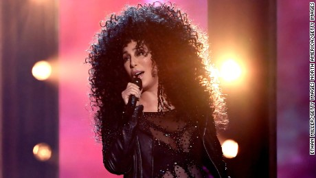 Cher performs onstage during the 2017 Billboard Music Awards at T-Mobile Arena on May 21, 2017 in Las Vegas, Nevada.