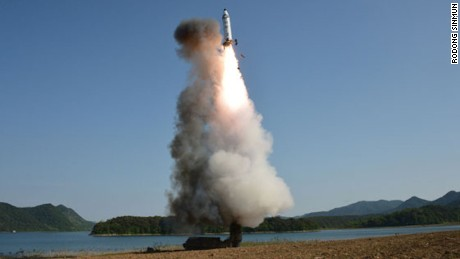 North Korea launches second missile in a week
