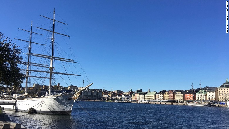 How This 19th-Century Ship Became a 21st-Century Youth Hostel in Stockholm