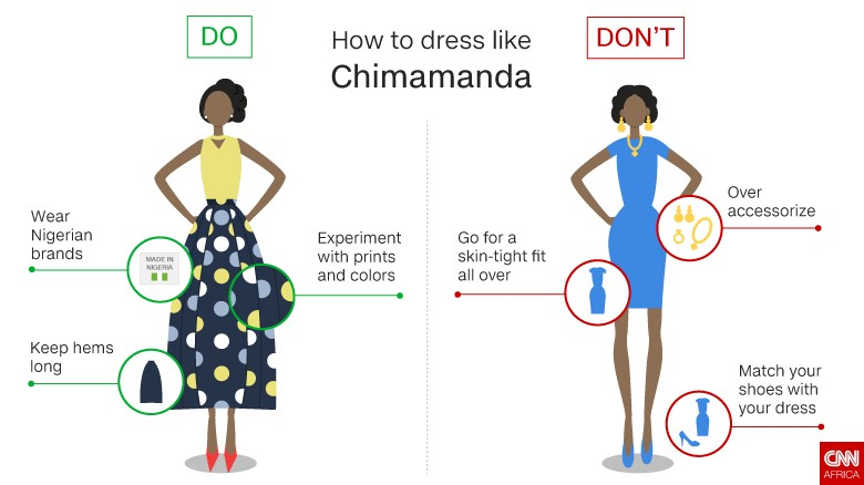 Style tips from Chimamanda