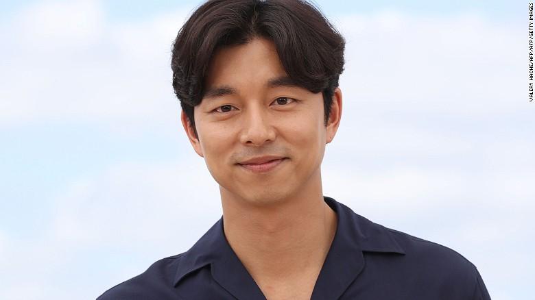 South Korean actor Gong Yoo.