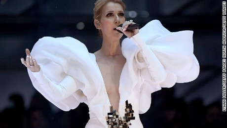 LAS VEGAS, NV - MAY 21:  Singer Celine Dion performs onstage during the 2017 Billboard Music Awards at T-Mobile Arena on May 21, 2017 in Las Vegas, Nevada.  (Photo by Ethan Miller/Getty Images)