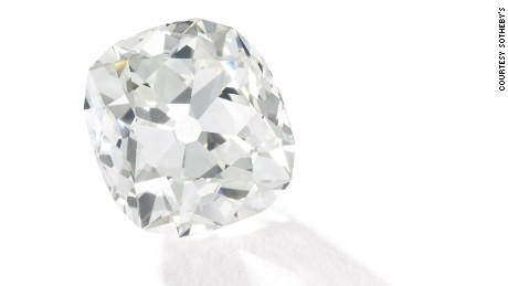 A diamond bought for $10 is expected to sell for over $400,000 at auction.