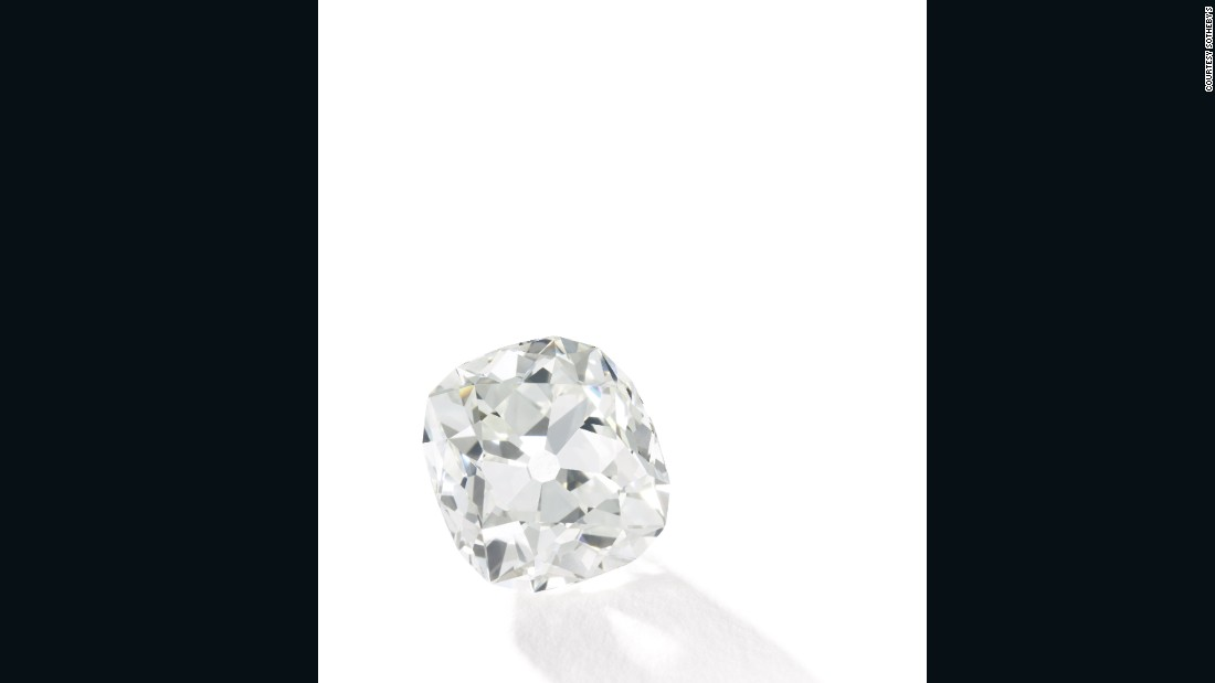 This diamond, bought at a car boot sale for $13, is expected to sell for more than $400,000 at auction. It will hit the auction block at Sotheby's on June 7, 2017.