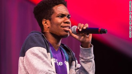 Senior at Harvard, Obasi Shaw, raps for his English thesis