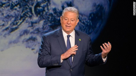 Former Vice President Al Gore spoke in Cannes, France today about how the climate change landscape is shifting.