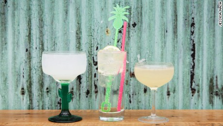 Refreshing beverages pair nicely with the open-air allure of rooftop bars.