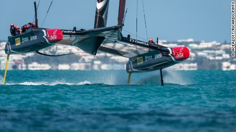 16/05/2017 - Royal Naval Dockyard (BDA) - 35th America's Cup Bermuda 2017 - Practice racing week for the 35th America's Cup