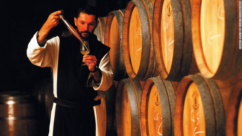 The Cistercian brothers produce award-winning wines.