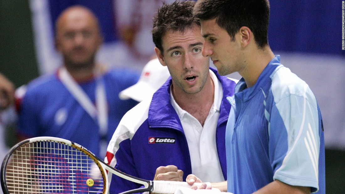 Djokovic was coached by Dejan Petrović from the age of 16, moving over 200 places up the rankings into the ATP top 100 inside a year. Petrović, an Australian-born Serb, also coached 2008 French Open winner Ana Ivanovic from 2014 to 2015.