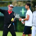 Novak Djokovic Boris Becker Gebhard Phil-Gritsch