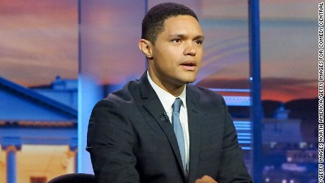 "Host Trevor Noah, ""The Daily Show"""