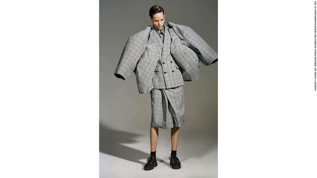 "Comme des Garçons's Autumn-Winter 2013 ""The Infinity of Tailoring"" collection"