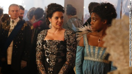 Anthony Head, Zuleikha Robinson and Lashana Lynch in 'Still Star-Crossed'