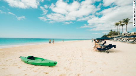 Elbow Beach is just one of Bermuda's irresistible stretches of sand.