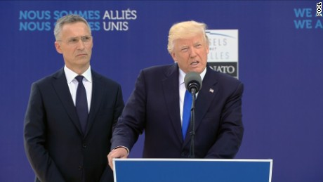 Trump's full speech at NATO 9/11 memorial
