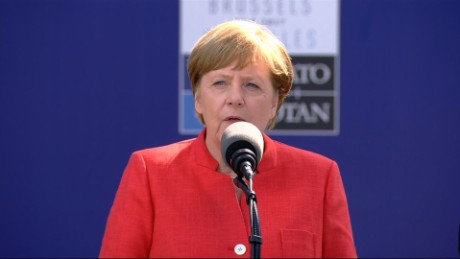 Merkel: Building walls doesn't equal success