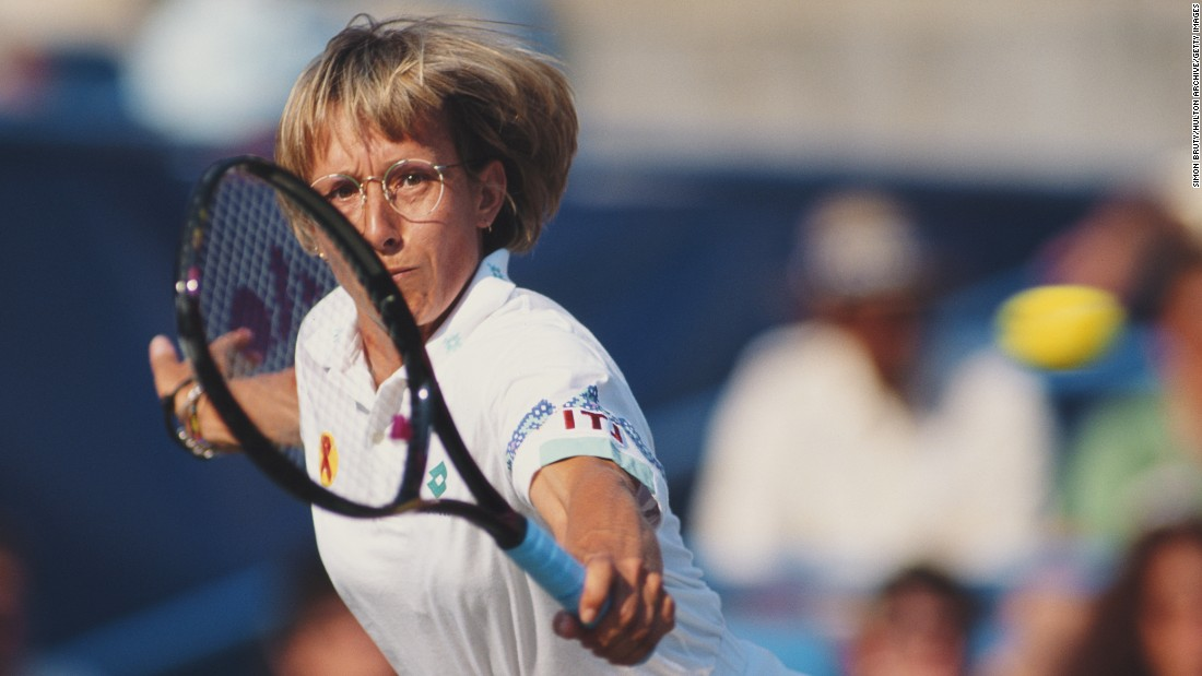 "One of the all-time tennis greats, Martina Navratilova, famously dubbed excessive grunting as<a href=""http://uk.reuters.com/article/uk-tennis-wimbledon-grunting-sb-idUKTRE55L0E520090622"" target=""_blank""> ""cheating,""</a> citing Roger Federer as a counter-example of a successful player who keeps schtum on the court."