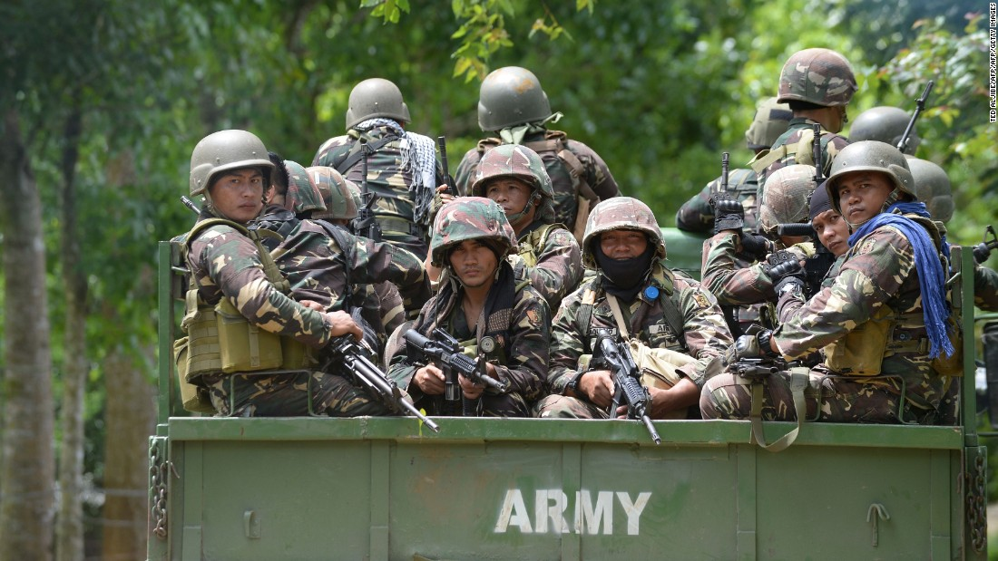 Duterte jokes about rape while rallying troops to fight militants