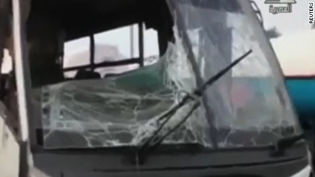 Bus attack egypt