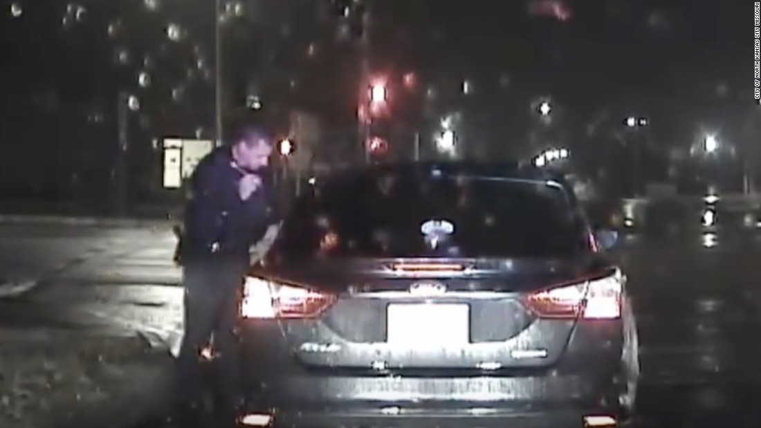 Toni Anderson: Dashcam footage shows traffic stop before drowning