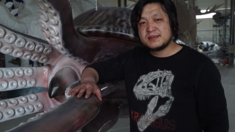 Zhao Chuang pictured at his studio.