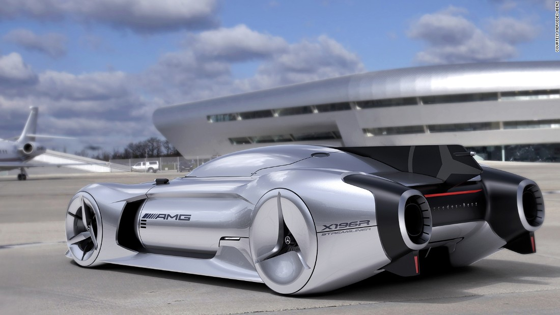 Though the silver color is typical for a Mercedes-Benz, South Korean designer Minwoong Im's 2040 Streamliner concept is anything but predictable. The design is based on the manufacturer's 1955 W196R, which itself drew inspiration from World War II fighter planes.