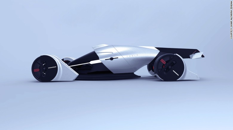 six students from the ied barcelona design school were tasked with creating a futuristic race car