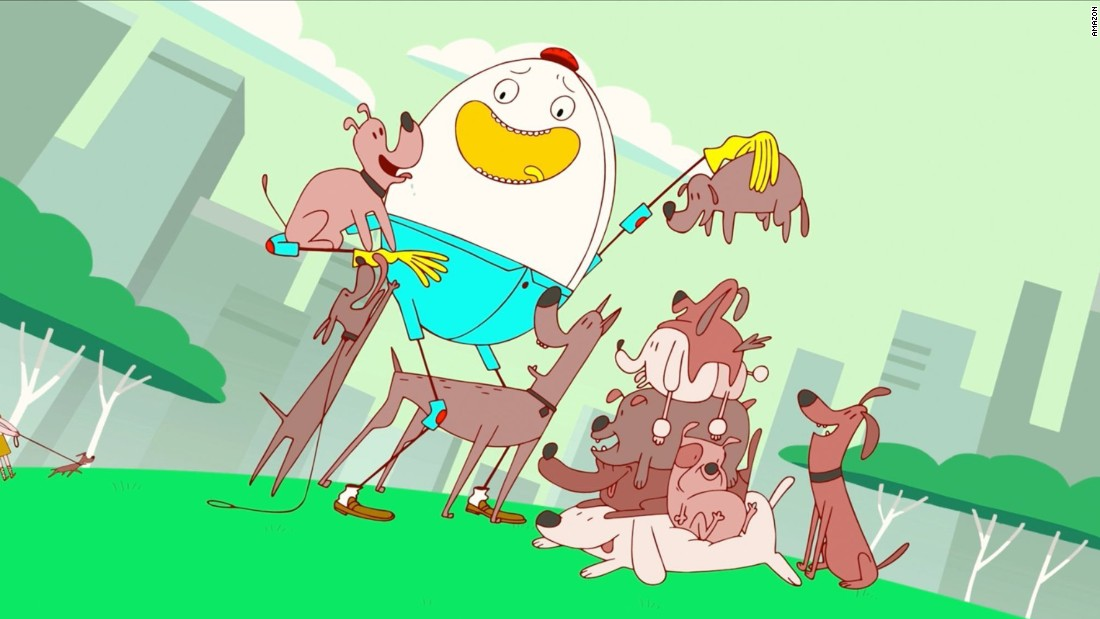 """Danger & Eggs"": A pair of friends get into zany adventures in this animated series. <strong>(Amazon Prime)  </strong>"