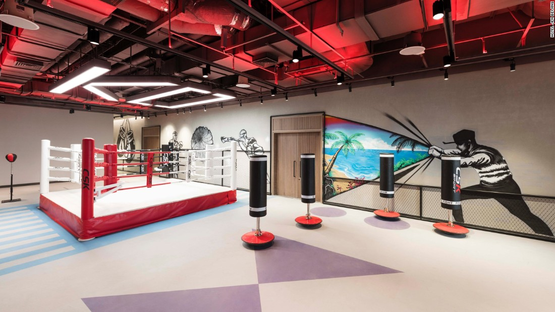 World S Best Hotel Gyms Cnn Com