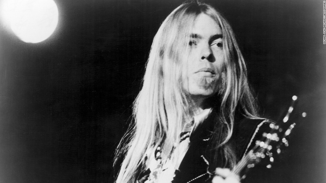 "<a href=""http://www.cnn.com/2017/05/27/entertainment/gregg-allman-obituary/index.html?adkey=bn"" target=""_blank"">Gregg Allman</a>, the founding member of the Allman Brothers Band who overcame family tragedy, drug addiction and health problems to become a grizzled elder statesman for the blues music he loved, died Saturday, May 27. He was 69."