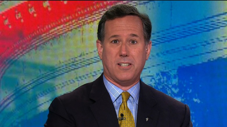 Santorum: Trump could be a good President if ...