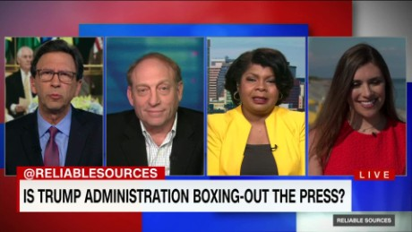reliable sources trump boxing out press_00040101