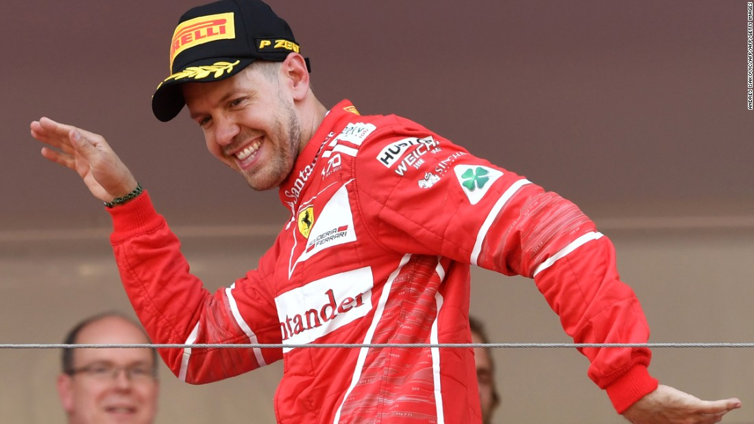 Monaco GP: Ferrari's Vettel wins 'intense' race