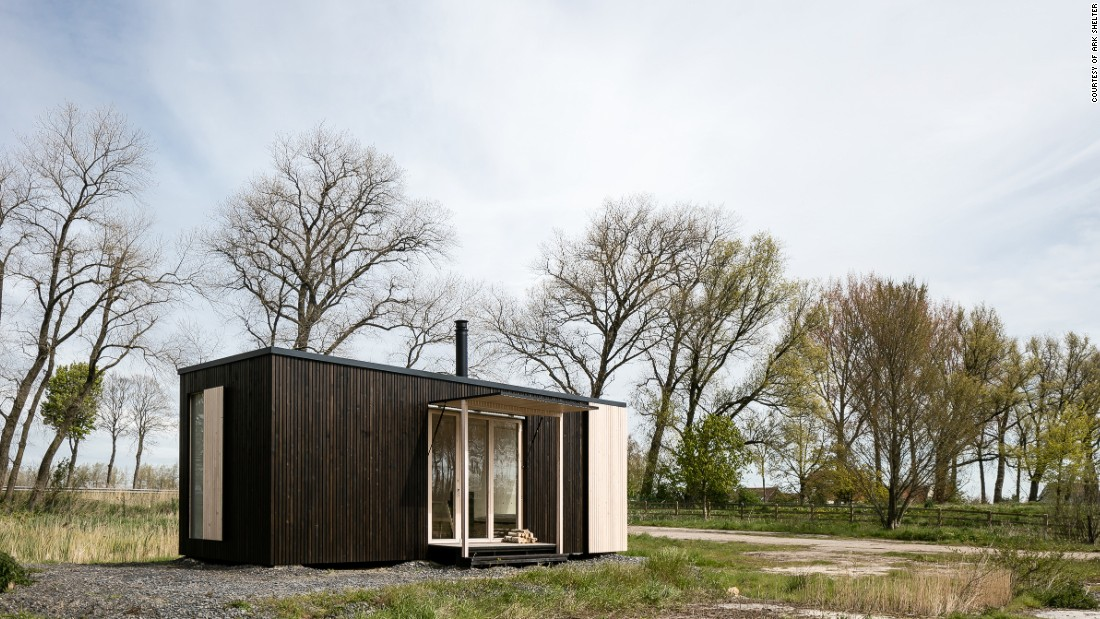 "The designers behind <a href=""http://ark-shelter.com/en/"" target=""_blank"">Ark Shelter</a> created a prefabricated cabin that can be installed without a foundation. The structure, which starts at $59,000, includes everything from the furniture to a rainwater collection system and wind-power generator.<br />"
