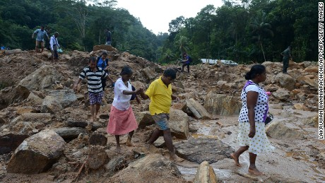 Death toll from Sri Lanka rains mounts to 164
