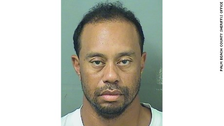 Tiger Woods Mugshot