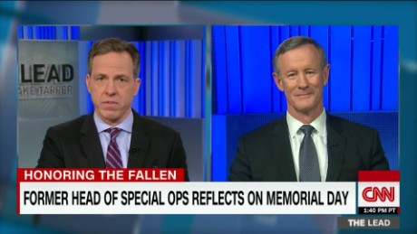 admiral william mcraven former commander special operations memorial day jake tapper interview_00000630