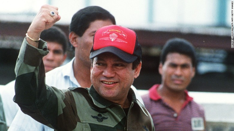 Noriega was the first foreign head of state to be convicted in a US court.