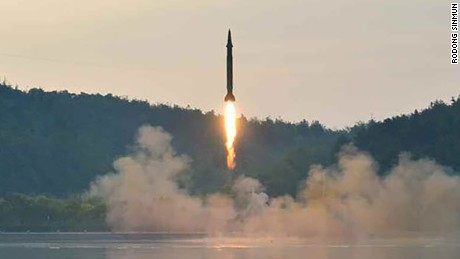 North Korean leader Kim Jong Un oversees a short-range ballistic missile test, the third missile test in just over 3 weeks.