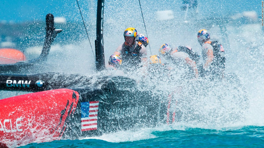 First staged in 1851, the America's Cup is the oldest trophy in international sport.