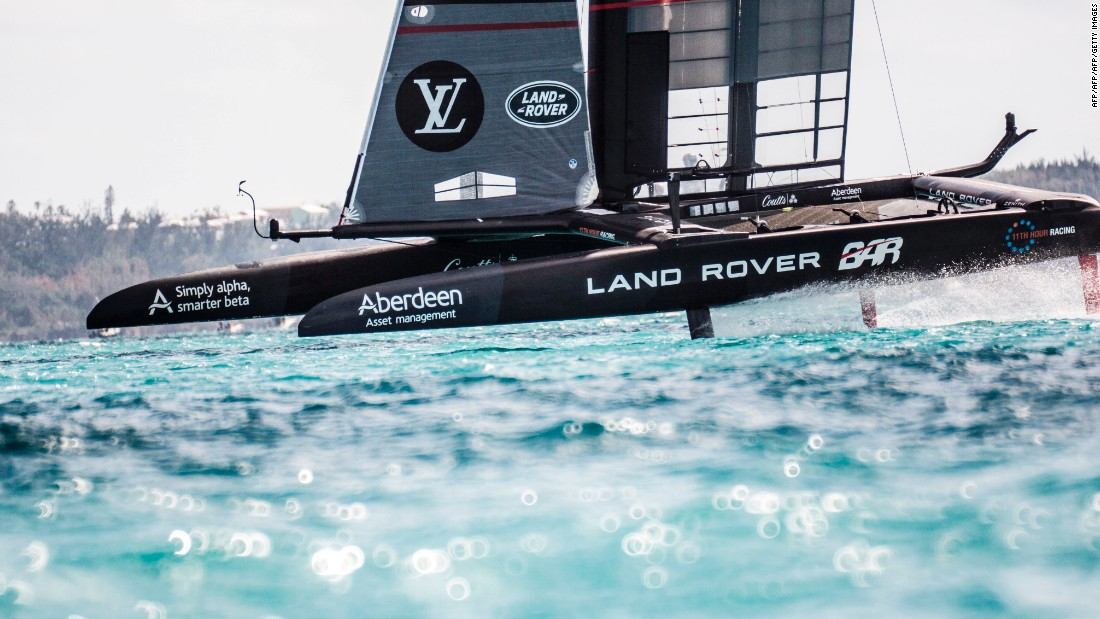 The America's Cup Class boats travel in close proximity to each other and at high speeds. Each is around 50 feet long and can reach speeds close to 50 knots (57mph), according to event organizers.