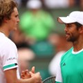 Fernando Verdasco of Spain and Alexander Zverev french open