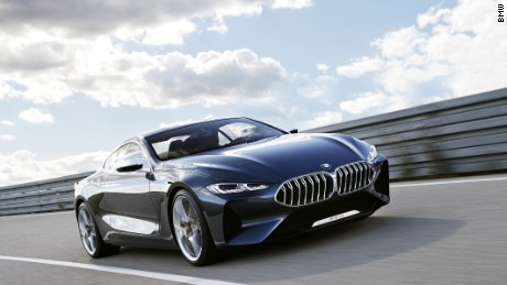 BMW last made an 8 Series more than 17 years ago; it recently signalled the return of the badge with this show car, called Concept 8 Series.