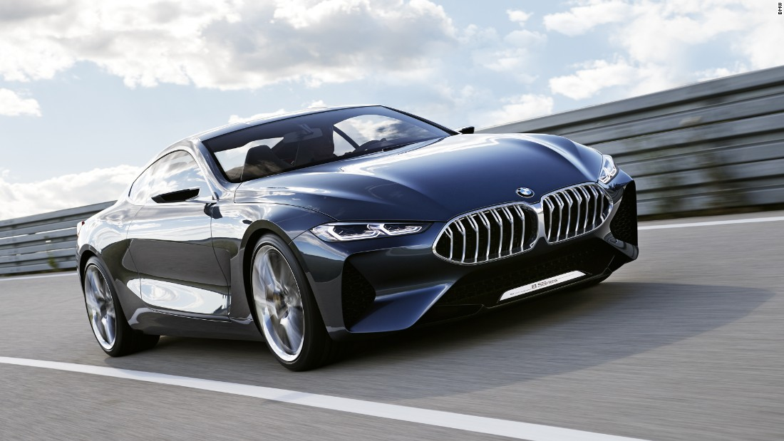 BMW last made an 8 Series more than 17 years ago; it recently signaled the return of the badge with this show car, called the Concept 8 Series.