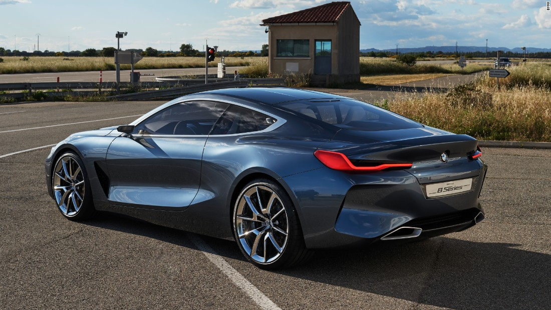 The Concept 8 Series shows how BMW will take its large coupe upmarket -- but it's interesting that it has decided to use a name from the past.