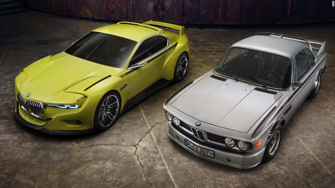 BMW has a history of producing retro-influenced concepts; this 2015 offering referenced the firm's classic 3.0 CSL road-racer from the 1970s.