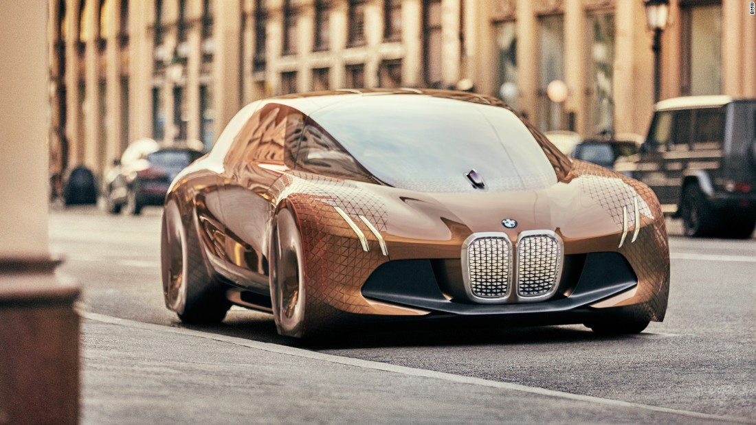 BMW's present to itself in its centenary year was the Vision Next 100. It's a fully autonomous concept, but even its futuristic design contains familiar BMW styling cues.