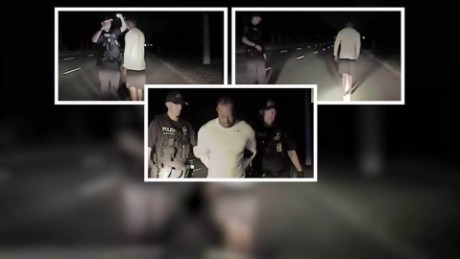 Tiger Woods fails sobriety test, on dash cam video_00000426