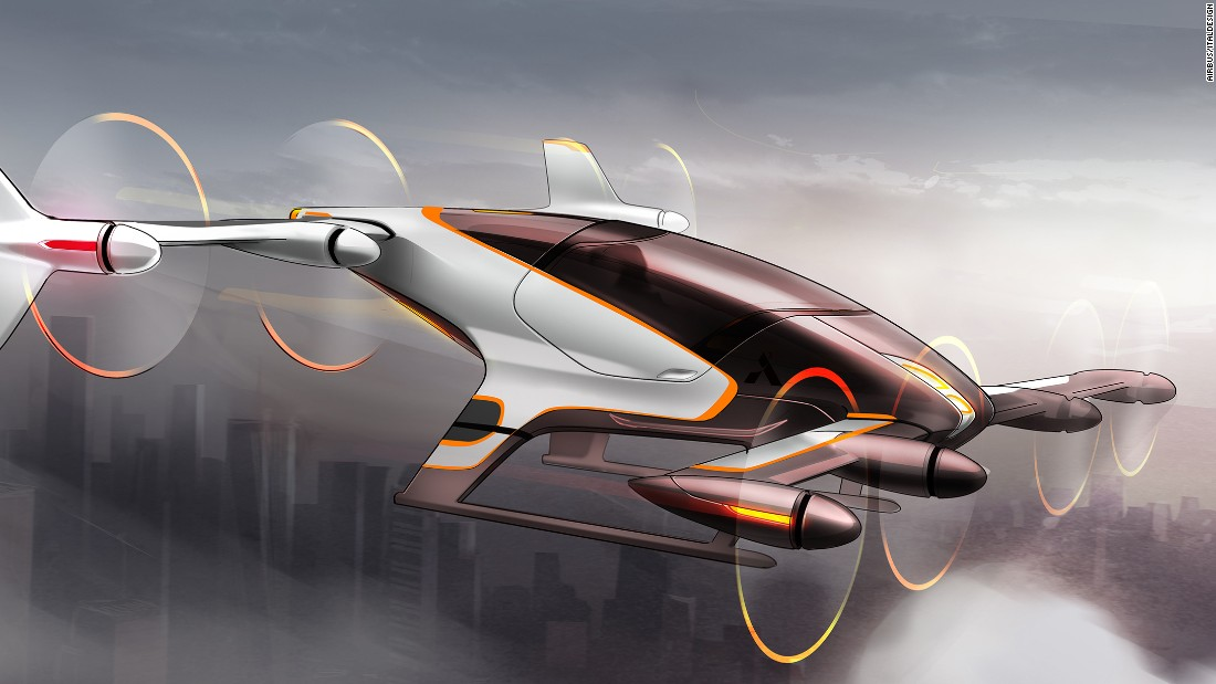 Another one of Airbus's projects, the Vahana is a single-passenger VTOL that's scheduled to fly by the end of 2017.
